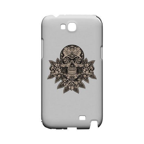 Skull Roses - Geeks Designer Line Tattoo Series Hard Case for Samsung Galaxy Note 2