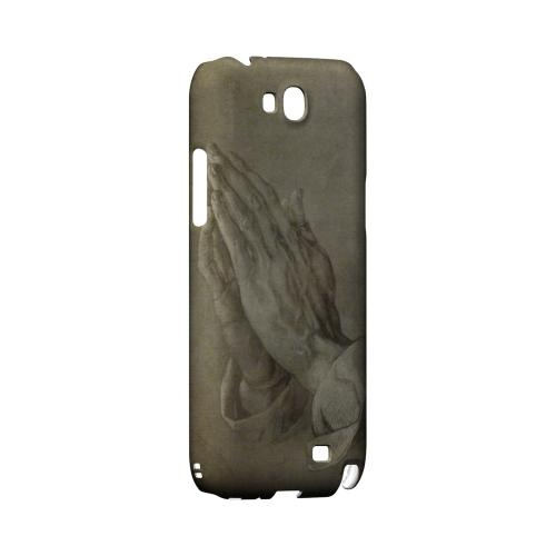 Albrecht Durer Praying Hands Geeks Designer Line Artist Series Slim Hard Case for Samsung Galaxy Note 2