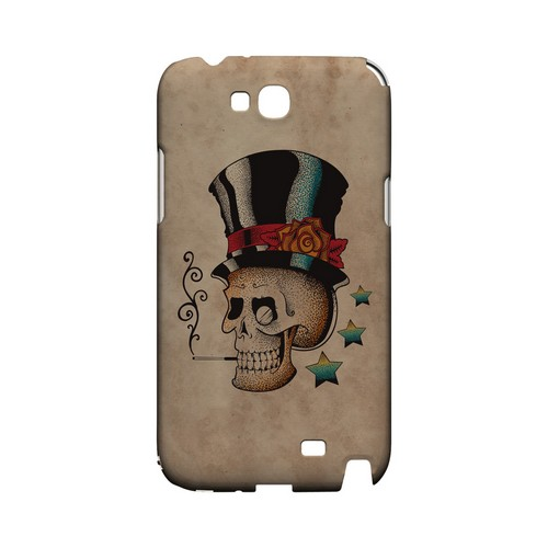 Smoking Skull - Geeks Designer Line Tattoo Series Hard Case for Samsung Galaxy Note 2