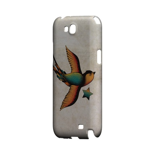 Swallow Star - Geeks Designer Line Tattoo Series Hard Case for Samsung Galaxy Note 2