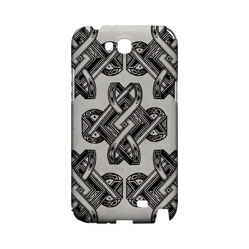 Tribal Art - Geeks Designer Line Tattoo Series Hard Case for Samsung Galaxy Note 2