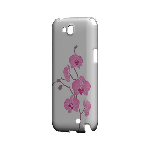 Pink Minimal Orchid Art - Geeks Designer Line Floral Series Hard Case for Samsung Galaxy Note 2
