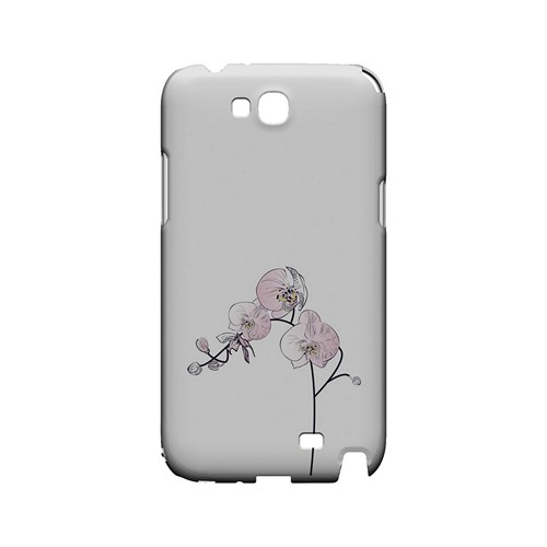 Lonely Orchid - Geeks Designer Line Floral Series Hard Case for Samsung Galaxy Note 2