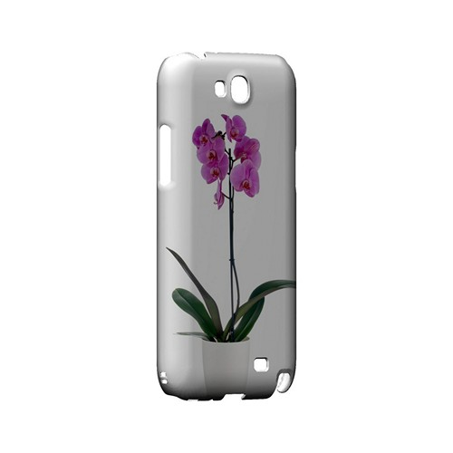 Hot Pink Orchid Plant - Geeks Designer Line Floral Series Hard Case for Samsung Galaxy Note 2