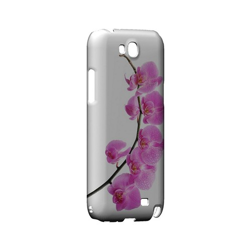Hot Pink Orchid Curved Branch - Geeks Designer Line Floral Series Hard Case for Samsung Galaxy Note 2