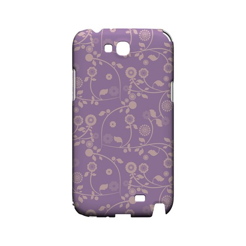 Floral 2 African Violet - Geeks Designer Line Pantone Color Series Hard Case for Samsung Galaxy Note 2