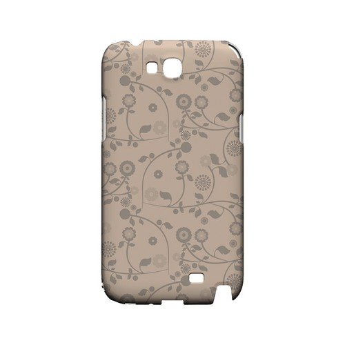Floral 2 Linen - Geeks Designer Line Pantone Color Series Hard Case for Samsung Galaxy Note 2