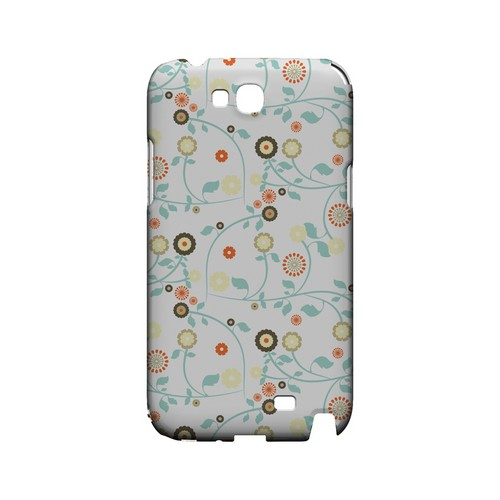 Floral 2 Multi-colored - Geeks Designer Line Pantone Color Series Hard Case for Samsung Galaxy Note 2