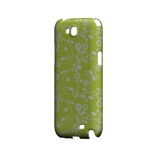 Floral 2 Tender Shoots - Geeks Designer Line Pantone Color Series Hard Case for Samsung Galaxy Note 2