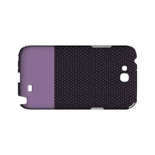 Little Circle Dots African Violet - Geeks Designer Line Pantone Color Series Hard Case for Samsung Galaxy Note 2
