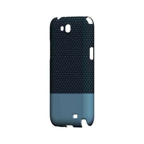 Little Circle Dots Dusk Blue - Geeks Designer Line Pantone Color Series Hard Case for Samsung Galaxy Note 2