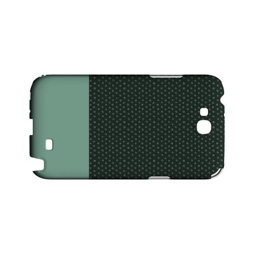 Little Circle Dots Grayed Jade - Geeks Designer Line Pantone Color Series Hard Case for Samsung Galaxy Note 2