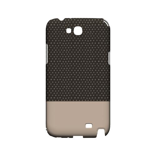 Little Circle Dots Linen - Geeks Designer Line Pantone Color Series Hard Case for Samsung Galaxy Note 2