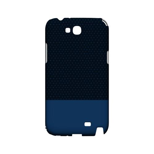Little Circle Dots Monaco Blue - Geeks Designer Line Pantone Color Series Hard Case for Samsung Galaxy Note 2