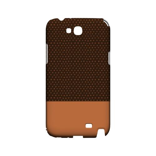 Little Circle Dots Nectarine - Geeks Designer Line Pantone Color Series Hard Case for Samsung Galaxy Note 2