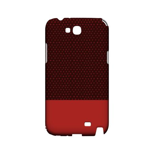 Little Circle Dots Poppy Red - Geeks Designer Line Pantone Color Series Hard Case for Samsung Galaxy Note 2