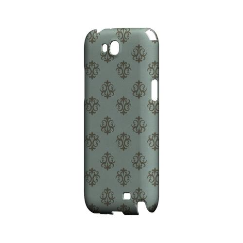 Ornamental Dusk Blue - Geeks Designer Line Pantone Color Series Hard Case for Samsung Galaxy Note 2