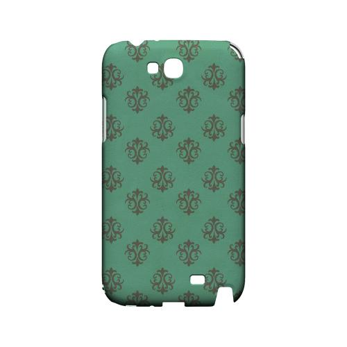 Ornamental Emerald - Geeks Designer Line Pantone Color Series Hard Case for Samsung Galaxy Note 2
