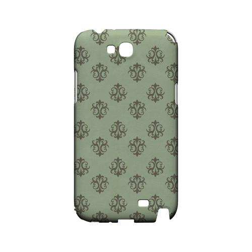 Ornamental Grayed Jade - Geeks Designer Line Pantone Color Series Hard Case for Samsung Galaxy Note 2
