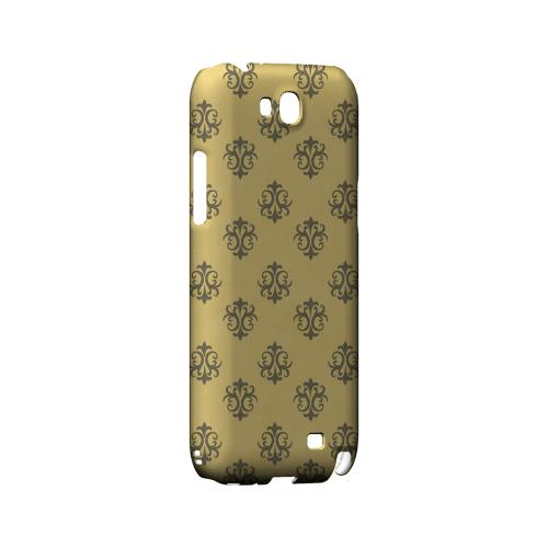 Ornamental Lemon Zest - Geeks Designer Line Pantone Color Series Hard Case for Samsung Galaxy Note 2