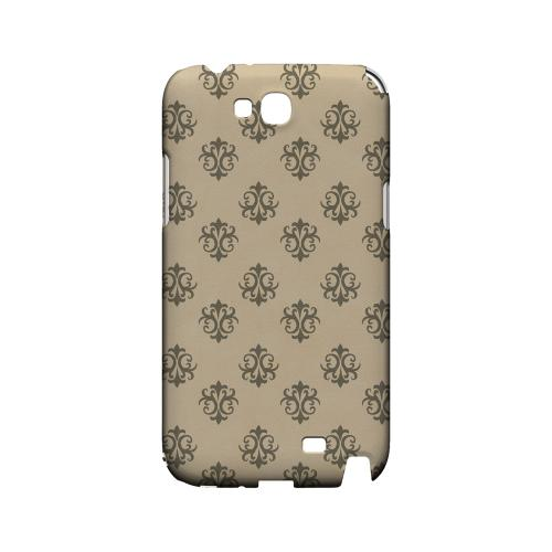 Ornamental Linen - Geeks Designer Line Pantone Color Series Hard Case for Samsung Galaxy Note 2