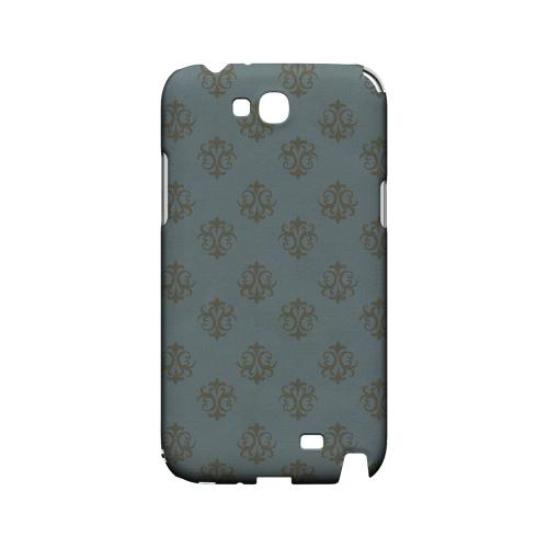 Ornamental Monaco Blue - Geeks Designer Line Pantone Color Series Hard Case for Samsung Galaxy Note 2