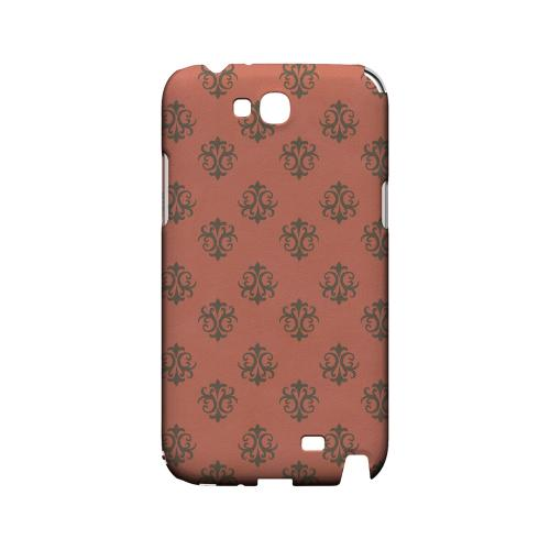 Ornamental Poppy Red - Geeks Designer Line Pantone Color Series Hard Case for Samsung Galaxy Note 2