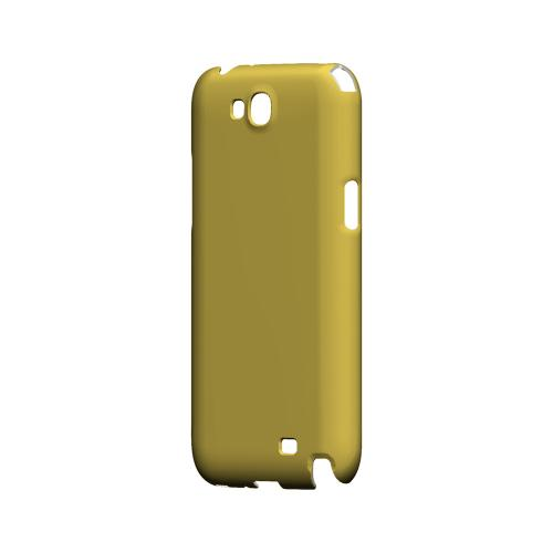 S13 Pantone Lemon Zest - Geeks Designer Line Pantone Color Series Hard Case for Samsung Galaxy Note 2