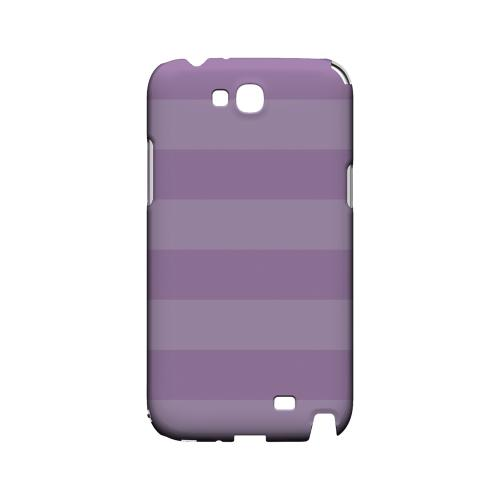 Stripes African Violet - Geeks Designer Line Pantone Color Series Hard Case for Samsung Galaxy Note 2
