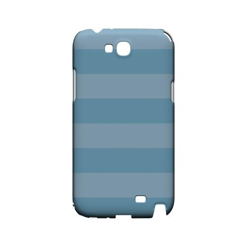 Stripes Dusk Blue - Geeks Designer Line Pantone Color Series Hard Case for Samsung Galaxy Note 2