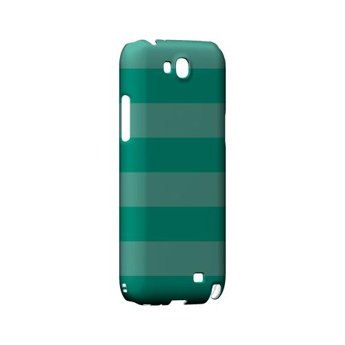 Stripes Emerald - Geeks Designer Line Pantone Color Series Hard Case for Samsung Galaxy Note 2