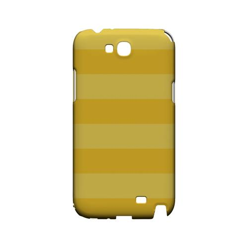 Stripes Lemon Zest - Geeks Designer Line Pantone Color Series Hard Case for Samsung Galaxy Note 2