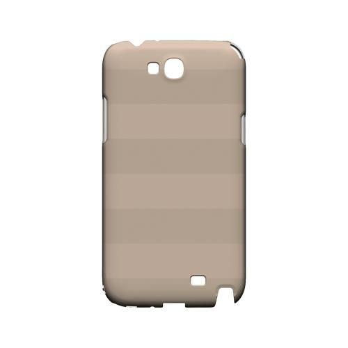Stripes Linen - Geeks Designer Line Pantone Color Series Hard Case for Samsung Galaxy Note 2
