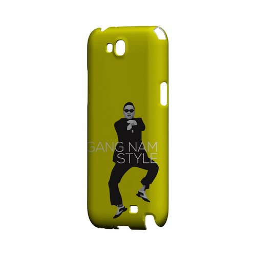 Yellow Gangnam Style - Geeks Designer Line Slim Back Cover for Samsung Galaxy Note 2