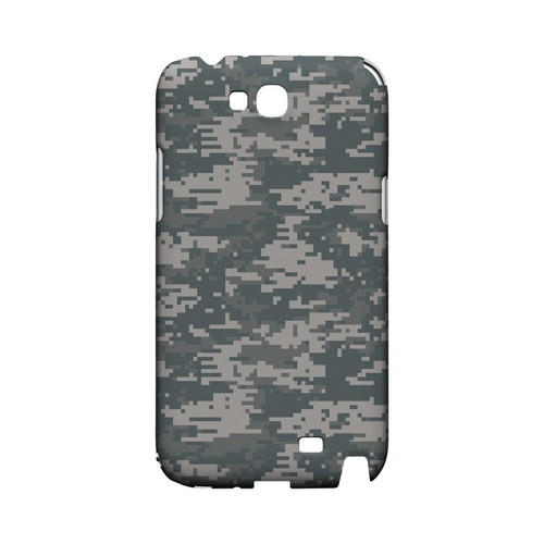Gray Digital Camouflage - Geeks Designer Line Slim Back Cover for Samsung Galaxy Note 2