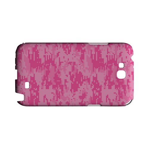 Pink Digital Camouflage - Geeks Designer Line Slim Back Cover for Samsung Galaxy Note 2