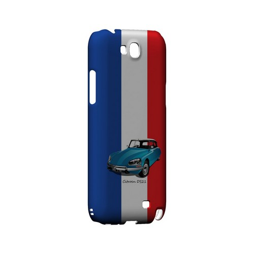 Citroen DS21 on Blue/ White/ Red - Geeks Designer Line Auto Series Hard Case for Samsung Galaxy Note 2