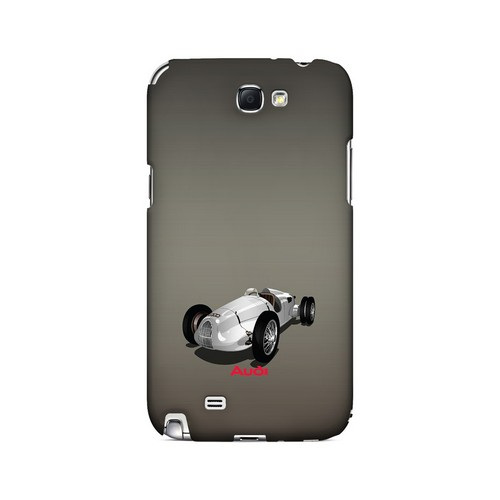 Classic Audi Race Car - Geeks Designer Line Auto Series Hard Case for Samsung Galaxy Note 2