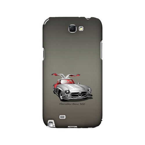 Classic Benz 300 Fade - Geeks Designer Line Auto Series Hard Case for Samsung Galaxy Note 2