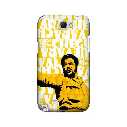 Che Guevara Discurso Pure Yellow - Geeks Designer Line Revolutionary Series Hard Case for Samsung Galaxy Note 2