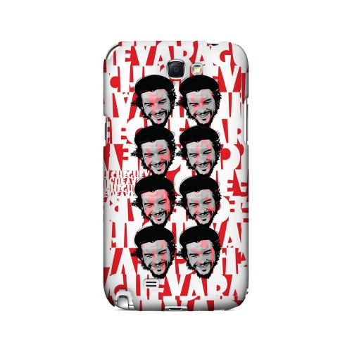 Che Guevara Happy Revolutionary Multi-Face on Red - Geeks Designer Line Revolutionary Series Hard Case for Samsung Galaxy Note 2