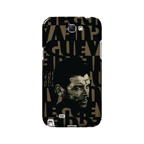 Che Guevara Serious Man on Brown - Geeks Designer Line Revolutionary Series Hard Case for Samsung Galaxy Note 2