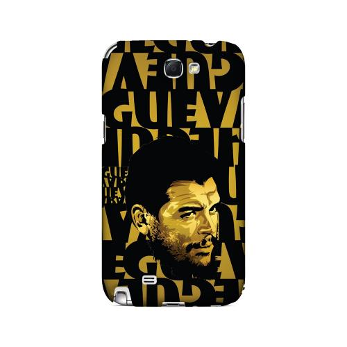 Che Guevara Serious Man on Gold - Geeks Designer Line Revolutionary Series Hard Case for Samsung Galaxy Note 2