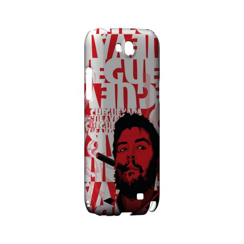 Che Guevara Smoke Red - Geeks Designer Line Revolutionary Series Hard Case for Samsung Galaxy Note 2