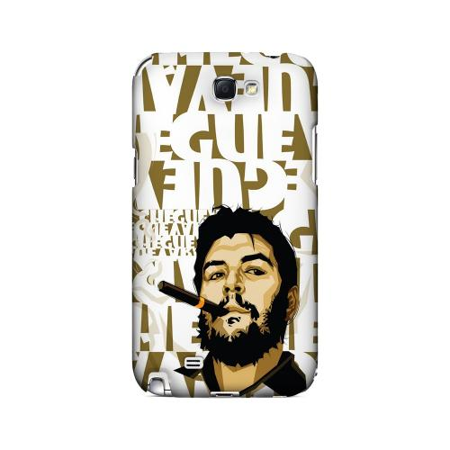 Che Guevara Smoke White Letters - Geeks Designer Line Revolutionary Series Hard Case for Samsung Galaxy Note 2