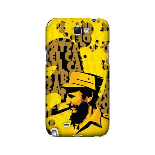 Yellow Fidelity - Geeks Designer Line Revolutionary Series Hard Case for Samsung Galaxy Note 2