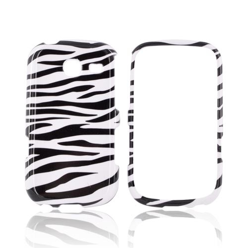 Samsung Freeform 3 Hard Case - Black/ White Zebra