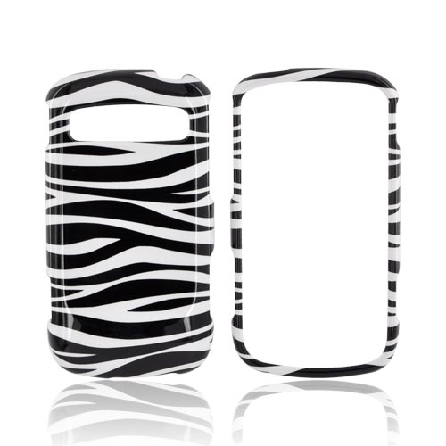 Samsung Rookie R720 Hard Case - Black/ White Zebra