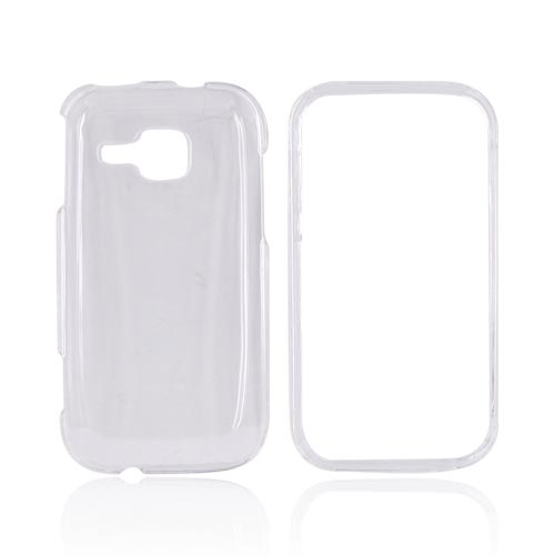 Samsung Galaxy Indulge R910 Hard Case - Transparent Clear