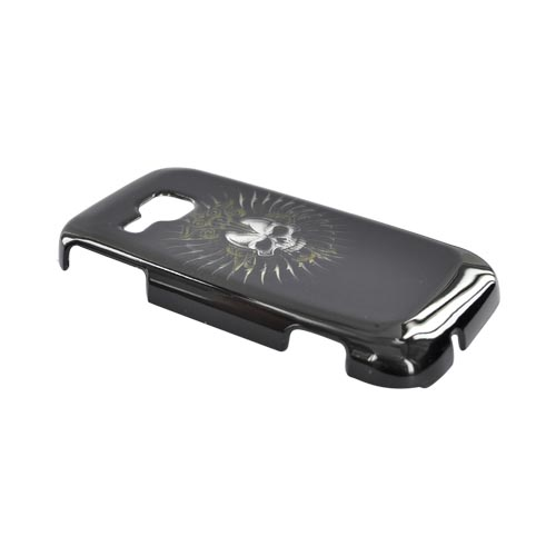 Samsung Galaxy Indulge R910 Hard Case - Cross Skull on Black